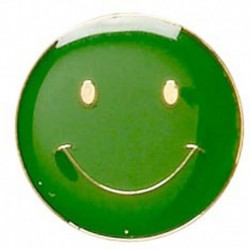 ButtonBadge20 Smile Green