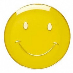 ButtonBadge20 Smile Yellow