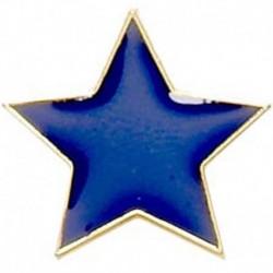 Badge20 Flat Star Blue