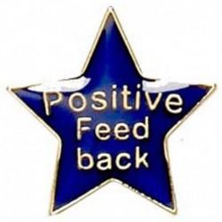 Badge20 Positive Feedback Blue