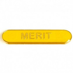 BarBadge Merit Yellow