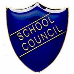 ShieldBadge School Council Blue