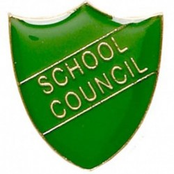ShieldBadge School Council Green