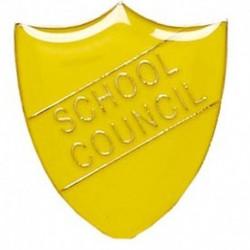 ShieldBadge School Council Yellow