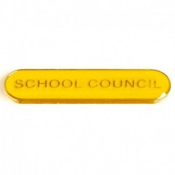 BarBadge School Council Yellow
