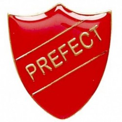 ShieldBadge Prefect Red