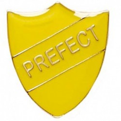 ShieldBadge Prefect Yellow