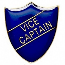 ShieldBadge Vice Captain Blue