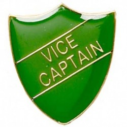 ShieldBadge Vice Captain Green
