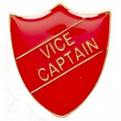 ShieldBadge Vice Captain Red
