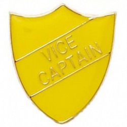 ShieldBadge Vice Captain Yellow