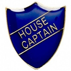 ShieldBadge House Captain Blue