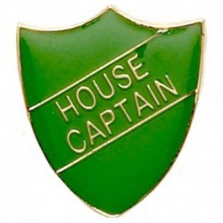 ShieldBadge House Captain Green