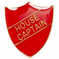 ShieldBadge House Captain Red