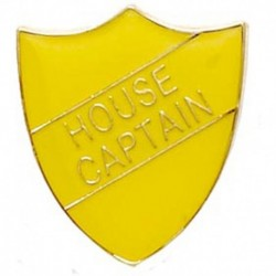 ShieldBadge House Captain Yellow
