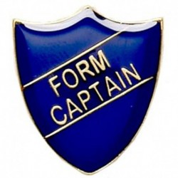 ShieldBadge Form Captain Blue