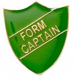 ShieldBadge Form Captain Green