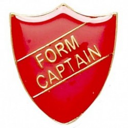 ShieldBadge Form Captain Red