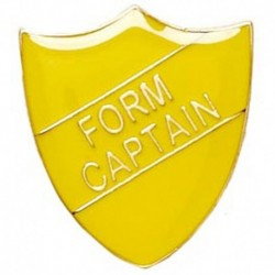 ShieldBadge Form Captain Yellow