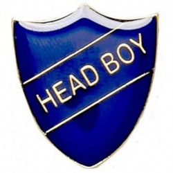 ShieldBadge Head Boy Blue