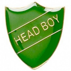 ShieldBadge Head Boy Green