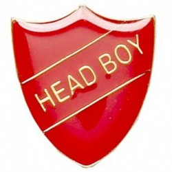 ShieldBadge Head Boy Red