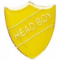 ShieldBadge Head Boy Yellow