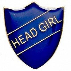 ShieldBadge Head Girl Blue