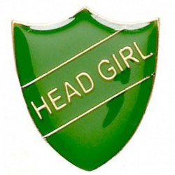 ShieldBadge Head Girl Green