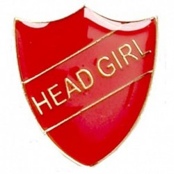 ShieldBadge Head Girl Red