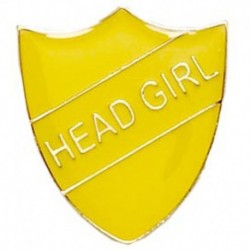 ShieldBadge Head Girl Yellow