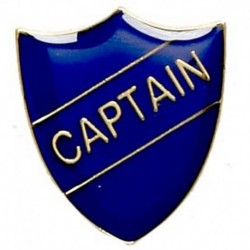 ShieldBadge Captain Blue