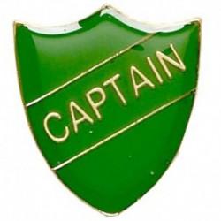 ShieldBadge Captain Green