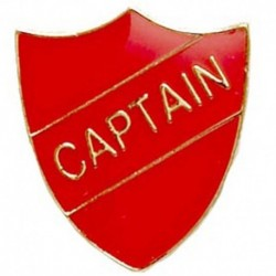 ShieldBadge Captain Red