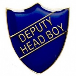 ShieldBadge Deputy Head Boy Blue