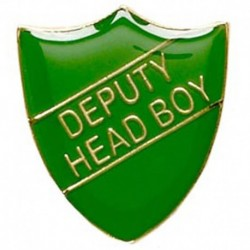 ShieldBadge Deputy Head Boy Green