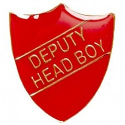 ShieldBadge Deputy Head Boy Red