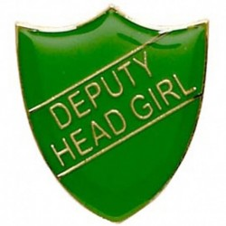 ShieldBadge Deputy Head Girl Green