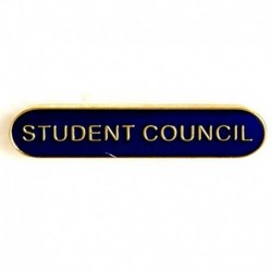 BarBadge Student Council Blue