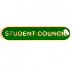 BarBadge Student Council Green
