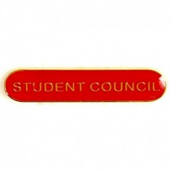 BarBadge Student Council Red