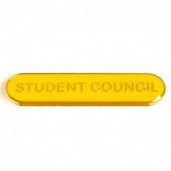 BarBadge Student Council Yellow