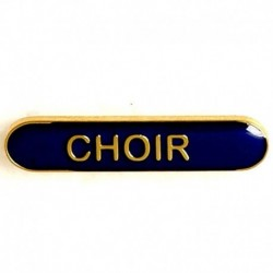 BarBadge Choir Blue