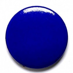 Blue Button Badge