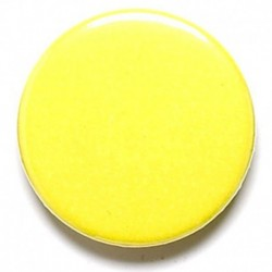 Yellow Button Badge
