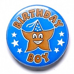 Birthday Boy Button Badge