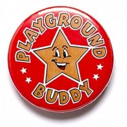 Playground Buddy Button Badge