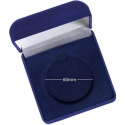 Medal Case60 Blue Velvet