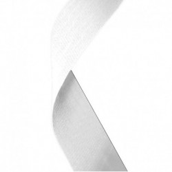 Medal Ribbon White