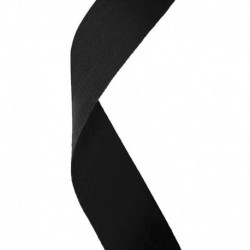 Medal Ribbon Black
